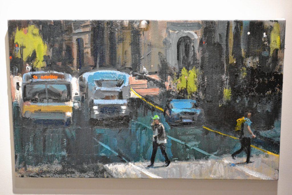 Crossing Congress, John Bonner, McGowan Fine Art. TIM GOODWIN / Insider staff