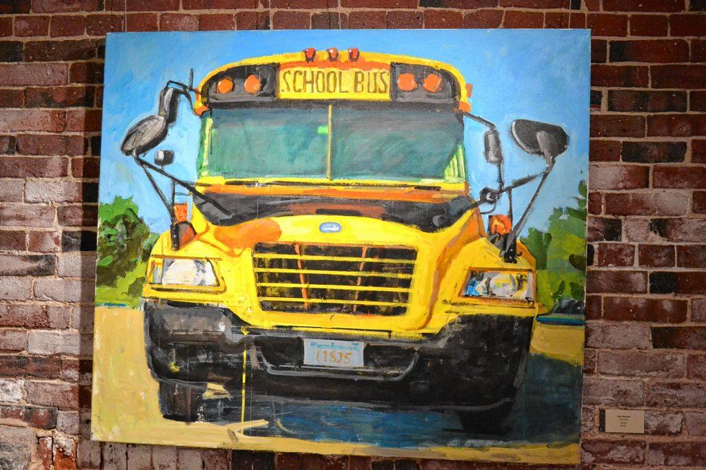 School Bus, John Bonner, McGowan Fine Art. TIM GOODWIN / Insider staff