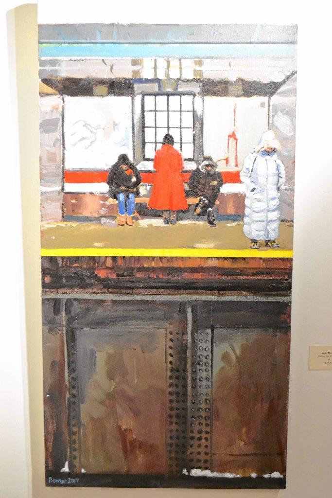 Coldest Day of the Year, John Bonner, McGowan Fine Art. TIM GOODWIN / Insider staff