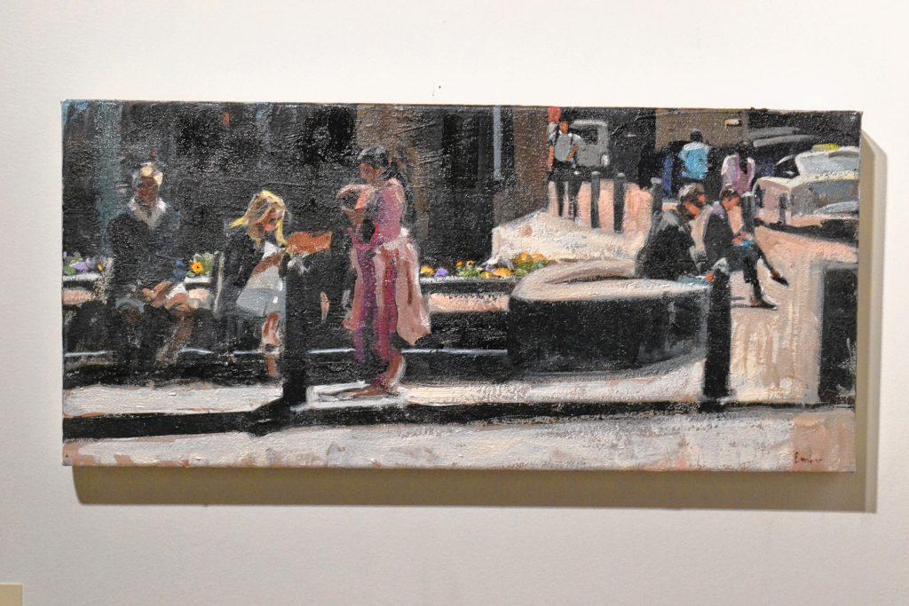 Lunchtime, John Bonner, McGowan Fine Art. TIM GOODWIN / Insider staff