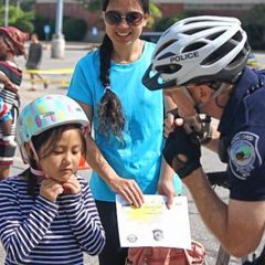 Concord Police Department holds second annual Bike Rodeo at Steeplegate Mall