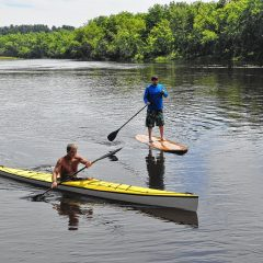 Show your paddling skills at the Canoe and Kayak Pro Pursuit Race at NHTI
