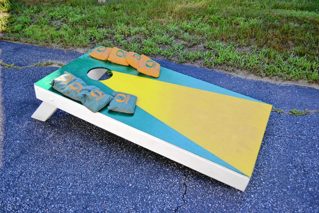 Do you think you have what it takes to win the National Night Out corn hole tournament? TIM GOODWIN / Insider staff