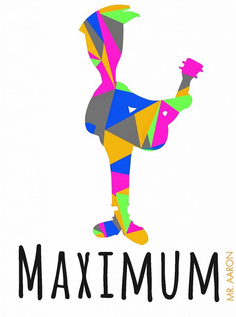 Maximum, the new album from Mr. Aaron. Courtesy of Aaron Jones