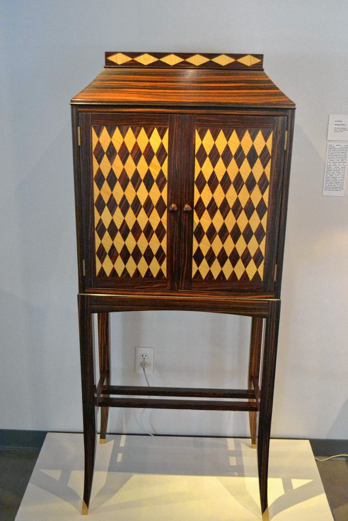Harlequin Cabinet, Terry Moore, League of N.H. Craftsmen, Celebrating 85 Years: The Stevens Collection. TIM GOODWIN / Insider staff