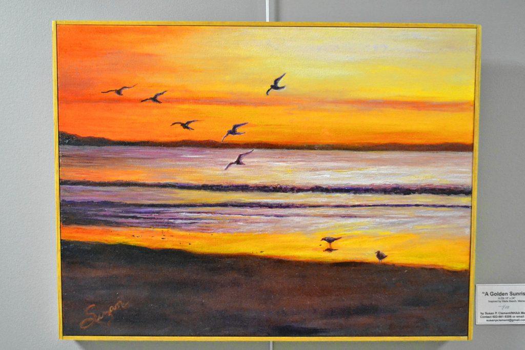 A Golden Sunrise, Susan Clement, N.H. Art Association, 2 Pillsbury St. TIM GOODWIN / Insider staff