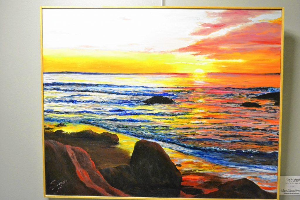 Up At Dawn, Susan Clement, N.H. Art Association, 2 Pillsbury St. TIM GOODWIN / Insider staff