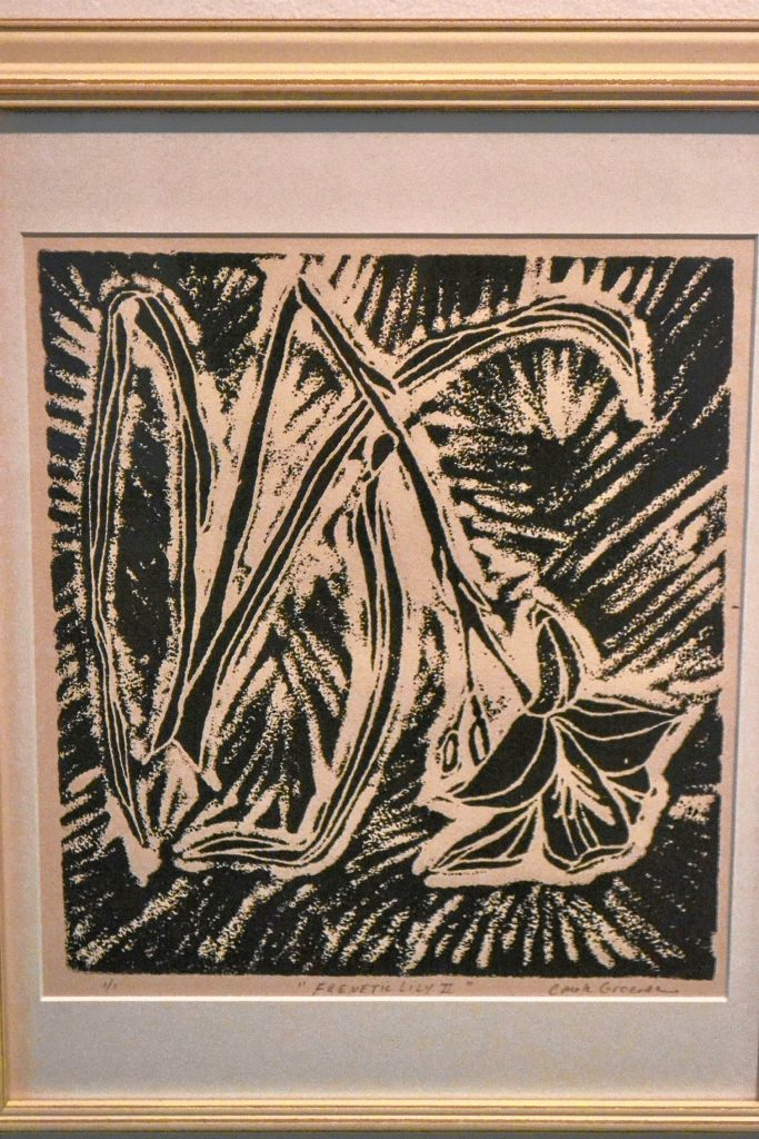 Frenetic Lily II, Carole Groenke, N.H. Women's Caucus for Art – A Second Look, Kimball Jenkins. TIM GOODWIN / Insider staff
