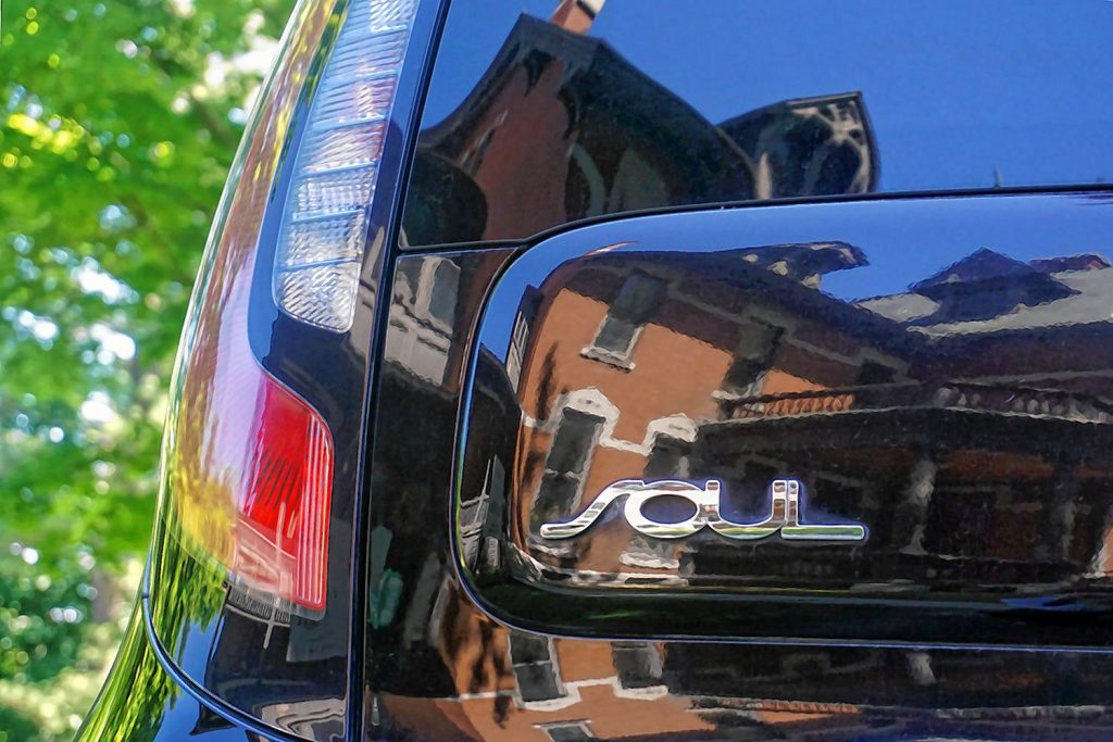 This photo by Lynne Sabean, showing the Kimball Jenkins mansion in the reflection of a Kia Soul, will be on display at Kimball Jenkins as part of the Photograph Kimball Jenkins photo exhibit starting Sept. 4. Courtesy of Kimball Jenkins