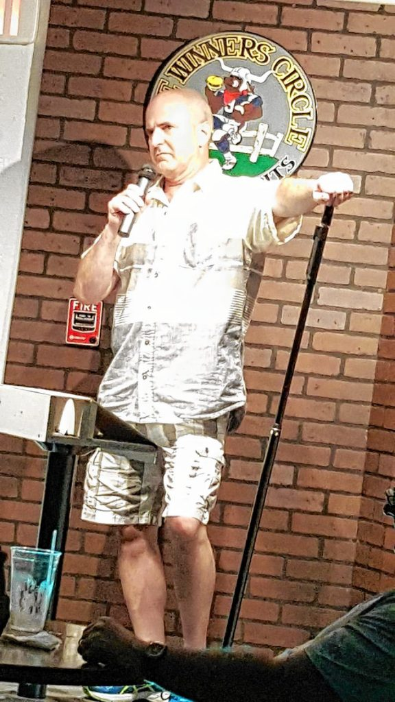 Laughta in New Hampsha graduate Rick Gauthier will perform at Friday's reunion show at Hatbox Theatre. Courtesy