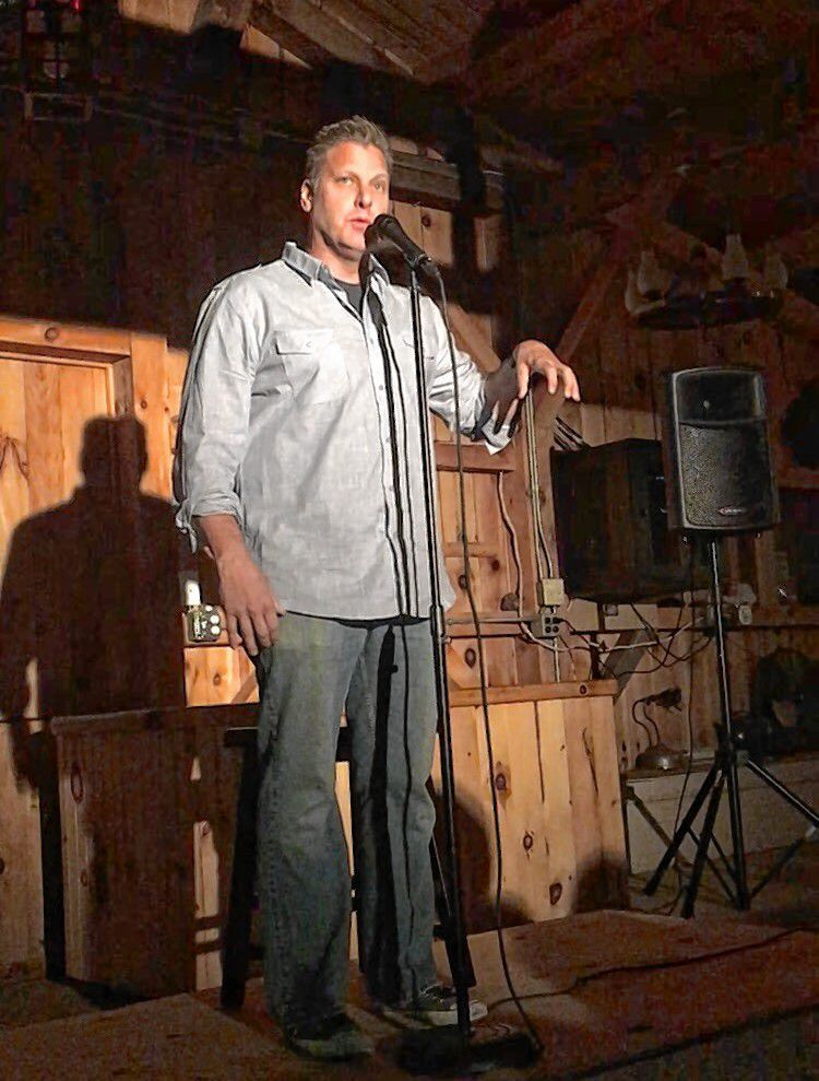 Laughta in New Hampsha graduate David Afflick will perform at Friday's reunion show at Hatbox Theatre. Courtesy