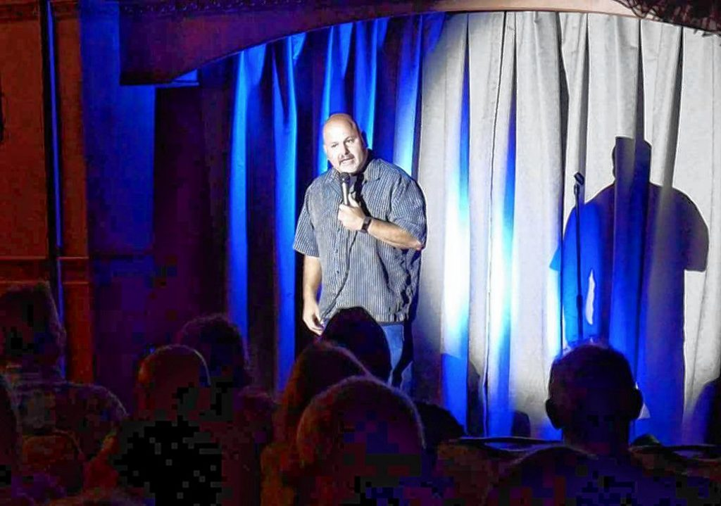 Steve Scarfo will headline the Laughta in New Hampsha reunion show on Friday at Hatbox Theatre. Courtesy