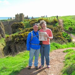 On the Road: We traveled all the way to Scotland with the Wilsons