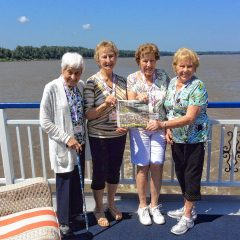 On the Road: The 'Insider' takes a riverboat cruise along the Mississippi