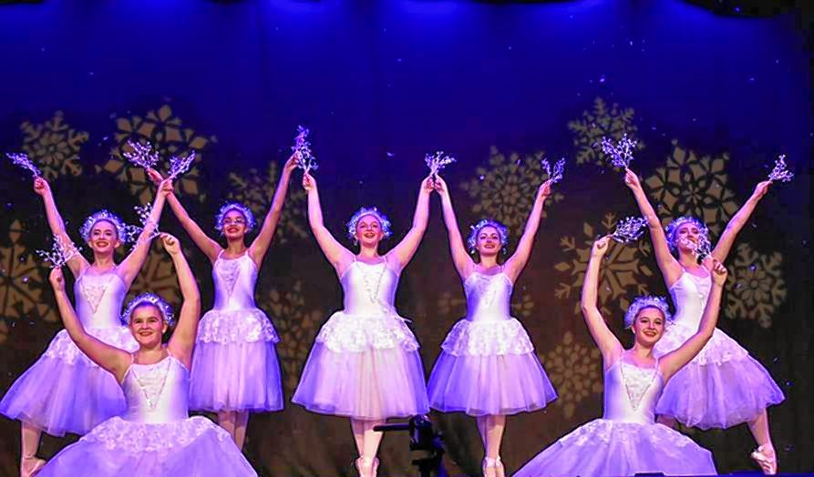 Dancers with Turning Pointe Center of Dance perform a scene from The Nutcracker at the Concord City Auditorium in 2017. Turning Pointe will be featured at this year's Season-Opening Gala at the Audi on Sunday. Courtesy of Turning Pointe Center of Dance