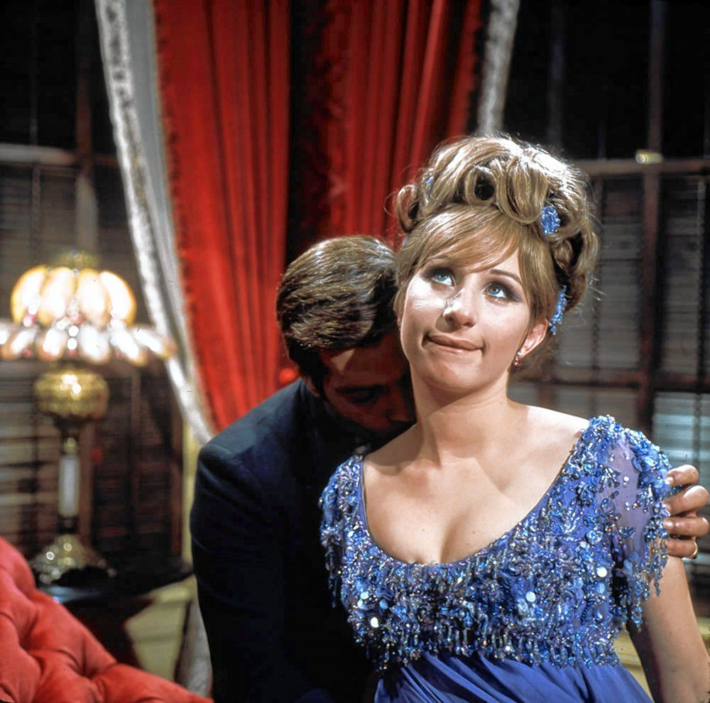 Barbara Streisand in a scene from the 1967 film 'Funny Girl,' which will be shown at Red River Theatres on Sunday. Creative Commons
