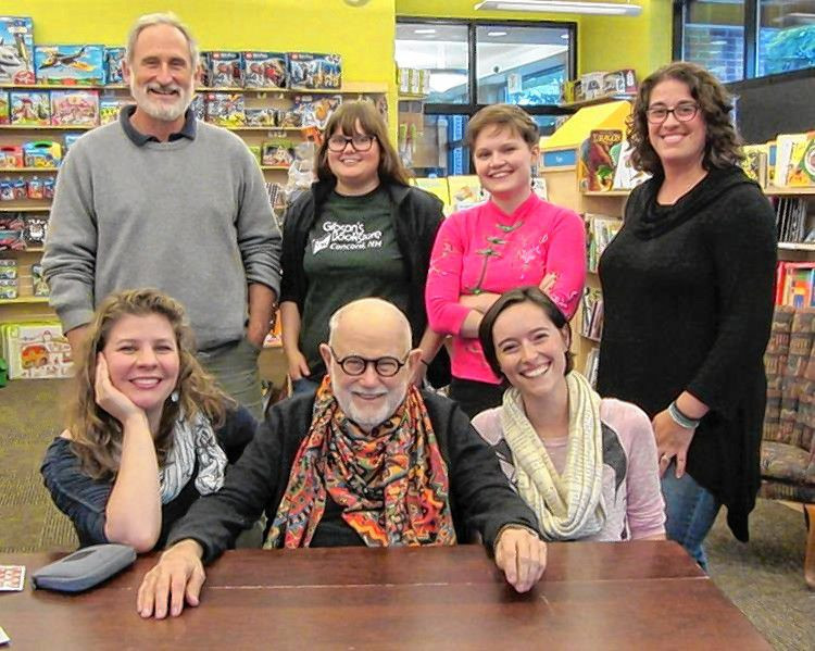 The staff of Gibson's Bookstore will be honored as the Most Fascinating Small Business during ConcordTV's seventh annual Concord On Air telecast on Sunday. Courtesy of ConcordTV
