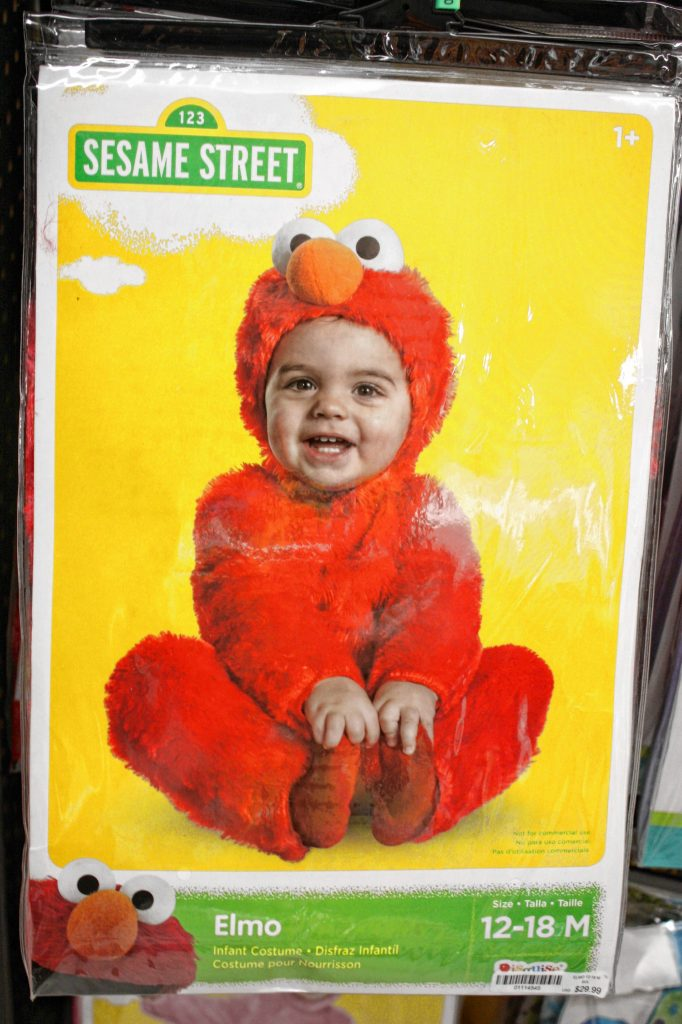 For the little, little ones, is there anything cuter than an Elmo costume? The best part is, it's perfect for boys or girls -- the jury is still out on what Elmo's gender is. JON BODELL / Insider staff