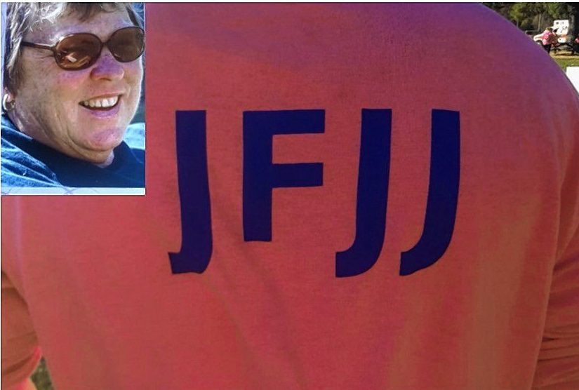 Brittany Fisher and Judy Kenison of team JFJJ. Courtesy of Kathi Russ
