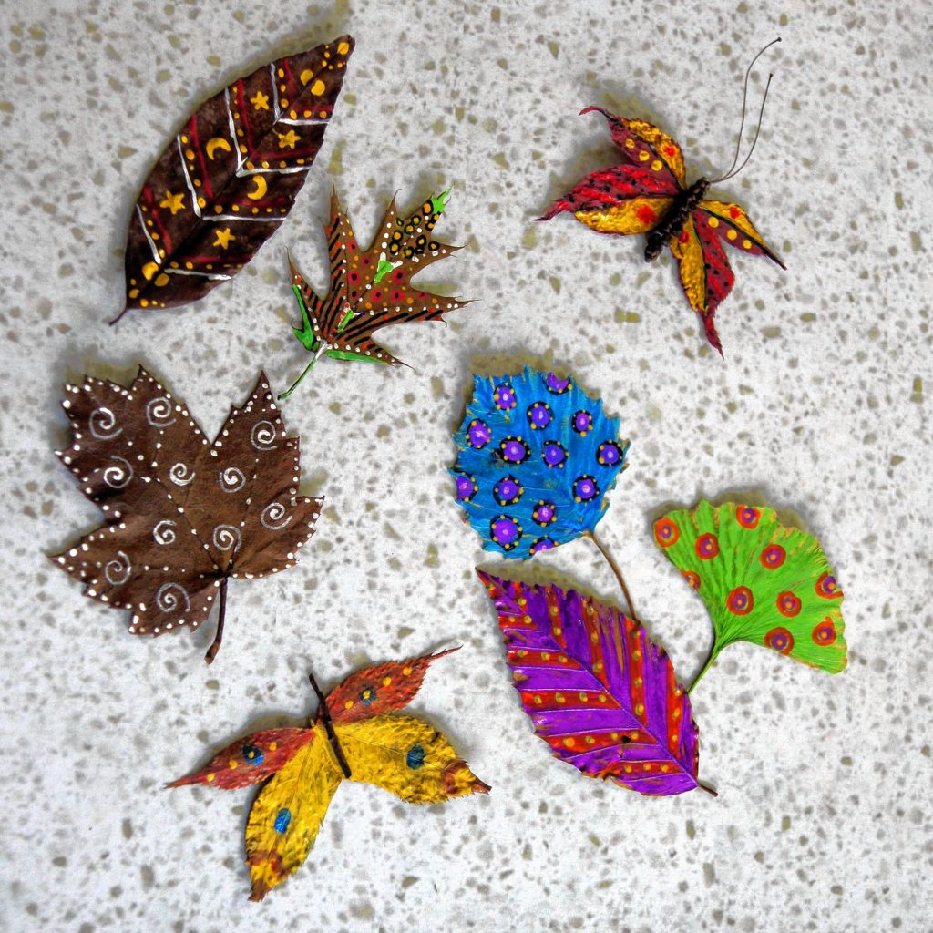 The Seacoast Artist Association Gallery and Shop will offer leaf art, among other things, during N.H. Open Doors. Courtesy of Seacoast Artist Association