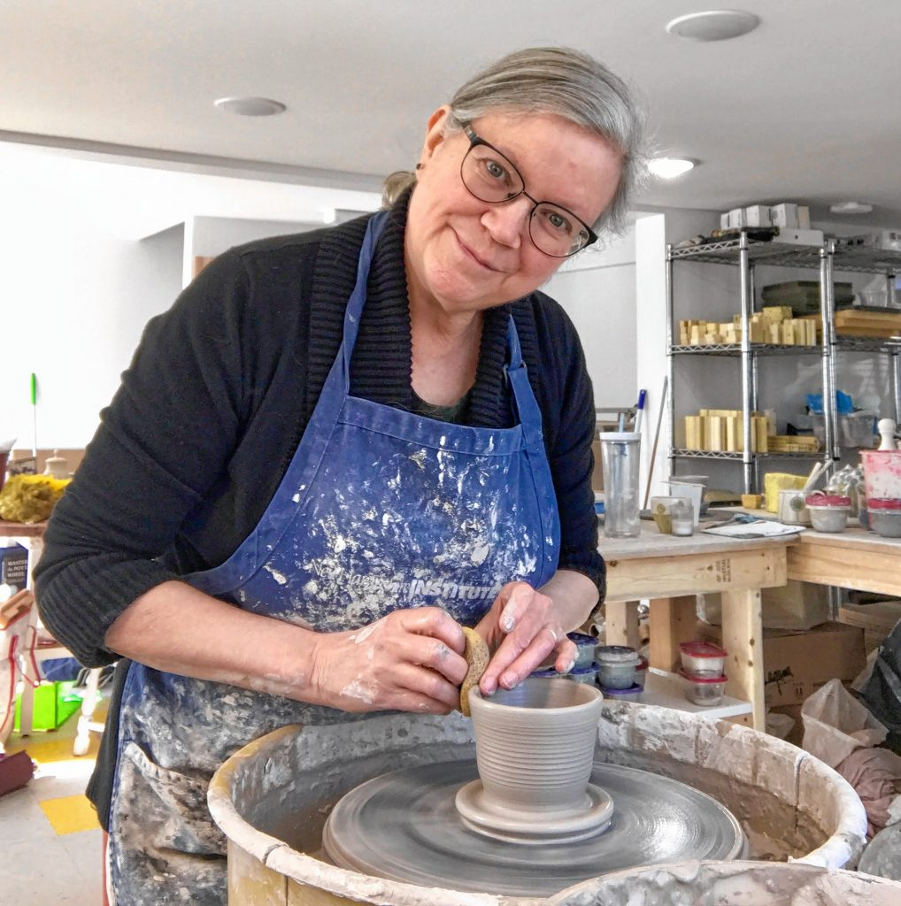 New Hampshire Open Doors participant Lori Rollason of Hillsborough creates functional pottery, including mugs, cups, bowls, oil decanters and sponge holders, which will be on display during the two-day event this Saturday and Sunday. Courtesy of Tessa Kurman Ali