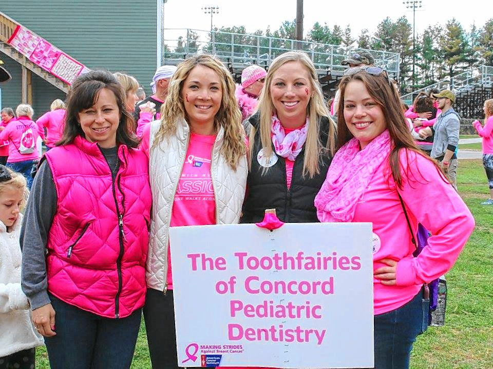 Samantha Laliberte of team Tooth Fairies of Concord Pediatric Dentistry.  Courtesy of Kathi Russ