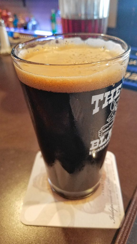 A pint of Stoneface Porter from the Red Blazer. JON BODELL / Insider staff