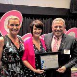 Volunteer Tina Smith recognized with Sandra C. Labaree Award