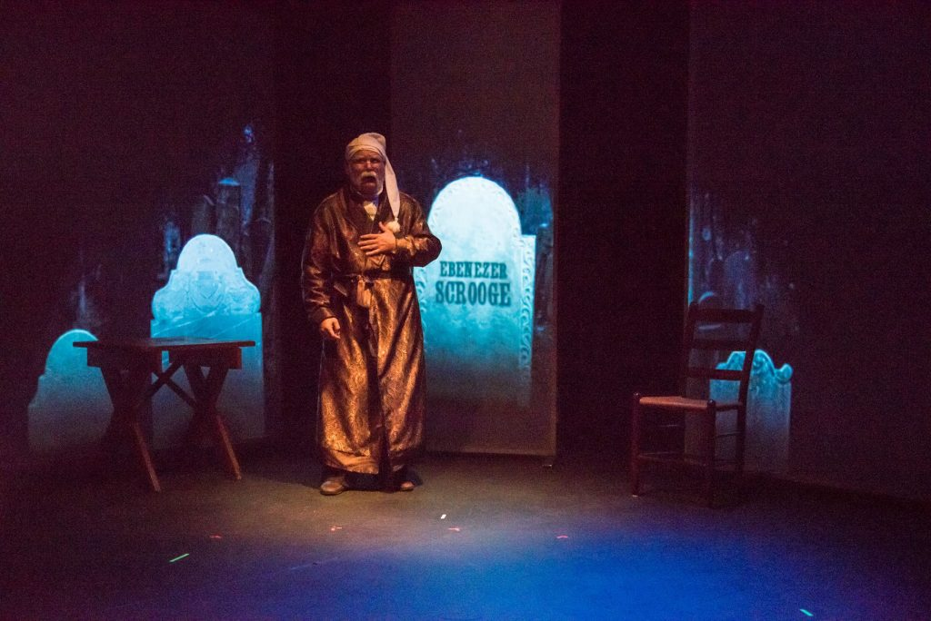 A Christmas Carol will run Friday and Saturday at 7:30 p.m. and Sunday 2 p.m. through Dec. 17 at the Hatbox Theatre.