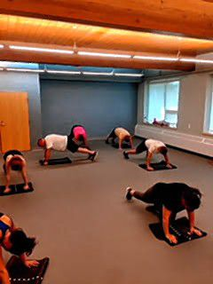 Jodi Cornell's Boot Camp classes at the City Wide Community Center incorporate several different elements of fitness into one class, including cardio, free weights, body-weight exercises, toning and more. Courtesy of Jodi Cornell