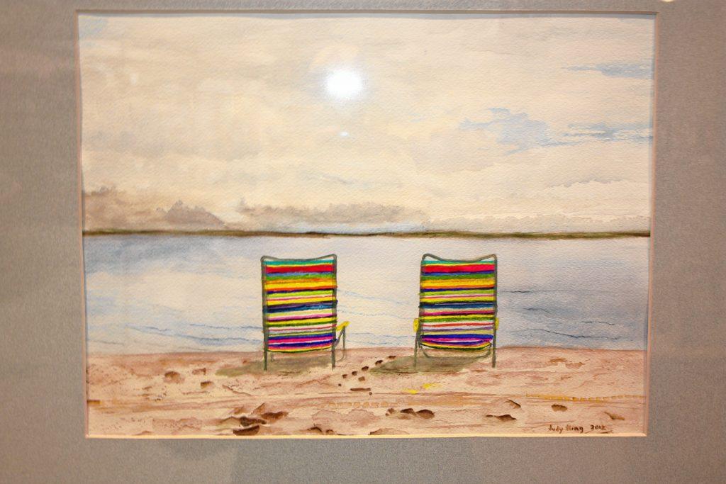 Beach Chairs, Nantucket, Massachusetts, by Judy King.