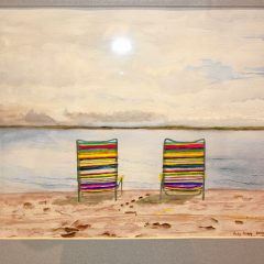 On Display: Watercolor paintings by Judy King at NHTI