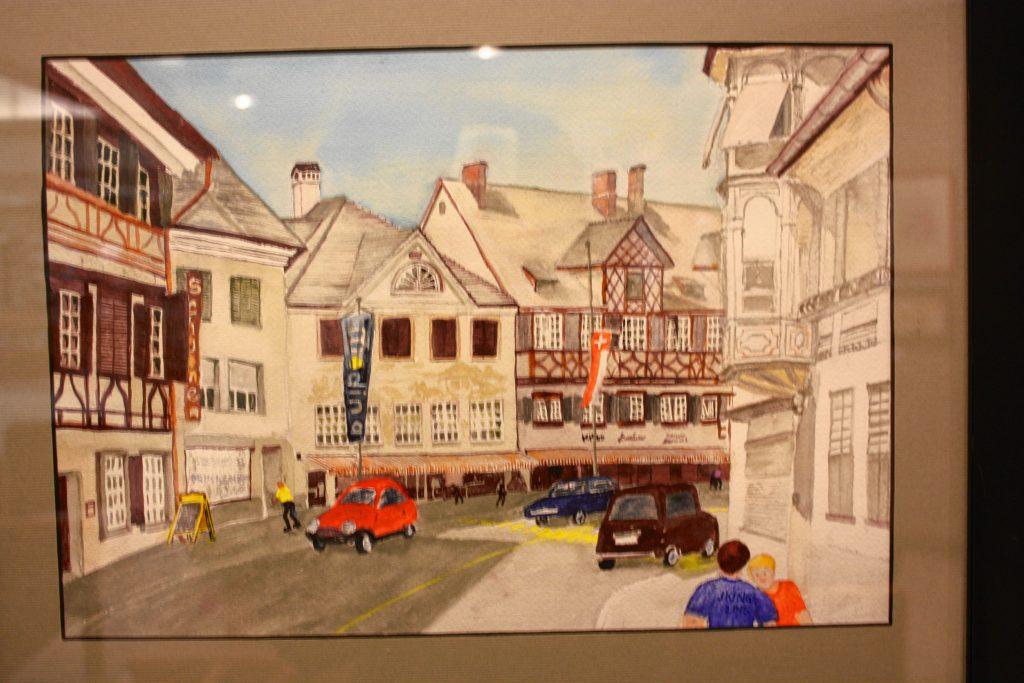 Swiss Village, by Judy King.