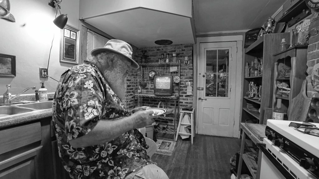 A scene from the short film Junker, created by Craig Greenman of Concord. The film will be shown at the 2018 SNOB Film Festival at Red River Theatres. Courtesy of Jay Doherty