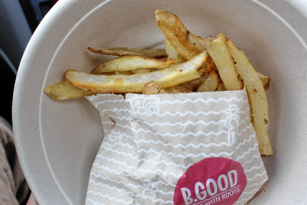 An order of fries from B.Good -- they only come in one size, and that's all you need.  JON BODELL / Insider staff