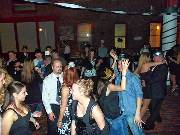 Expect a well-dressed crowd at Tandy's this New Year's Eve for the bar's annual Black & White Party.  Courtesy of Tandy's Pub