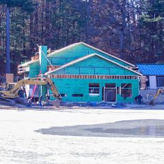 White Park skate house begins to take shape