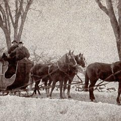 Way Back: Remembering the early sleigh parties of Concord's past