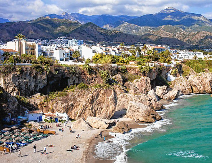 Check out the stunning landscape of Costa del Sol, Spain, where you could go on a group trip with the Greater Concord Chamber of Commerce in March.  Courtesy of Greater Concord Chamber of Commerce