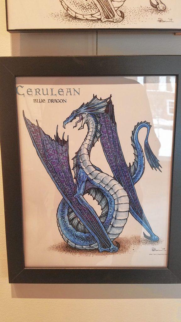 Cerulean (Dragons). JON BODELL / Insider staff