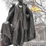 Blast From the Past: Reflecting on the dedication of the Franklin Pierce statue