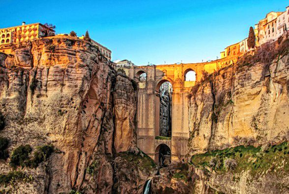 The Spanish town of Ronda, seen here, is one of the places that will be visited when the Greater Concord Chamber of Commerce leads a group trip to Spain in March. Courtesy of Greater Concord Chamber of Commerce