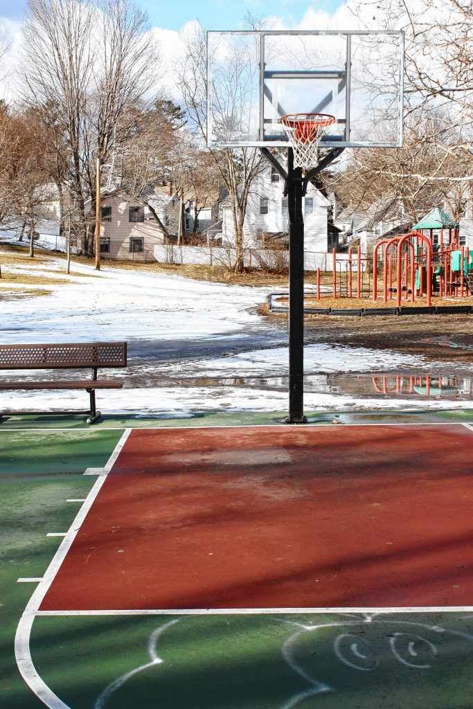 This is one of the few parks in the city that boasts a top-notch, full-size basketball court, including glass backboards and actual paint in the paint -- what a treat for all the Boys & Girls who use it. JON BODELL / Insider staff