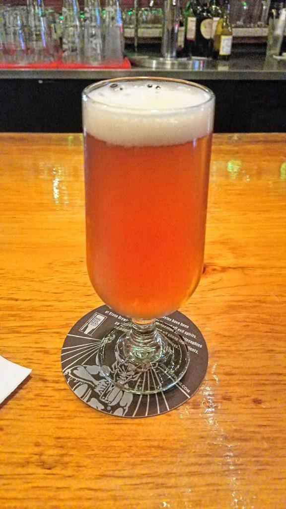 Smuttynose Whole Lotta Lupulin DIPA, on tap at True Brew Barista. JON BODELL / Insider staff