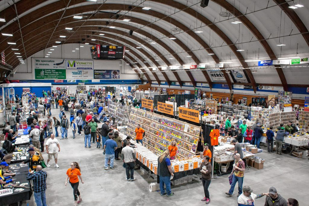 Scenes from the Old School Comic Show at Everett Arena in Concord on Saturday, April 28, 2018. Elizabeth Frantz