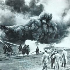 Blast From the Past: Fire at the Boston and Maine Railroad freight house in Concord