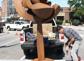 Artists invited to submit entries for outdoor sculpture installation in downtown Concord