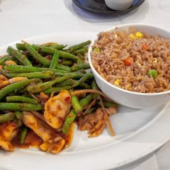 Food Snob: Ginger chicken with string beans from Chen Yang Li