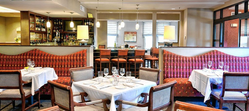 The Granite Restaurant is a beautiful setting for a romantic Valentine's Day dinner, and it just so happens to be offering a special dinner for the holiday with a prix fixe menu. Courtesy of The Granite Restaurant