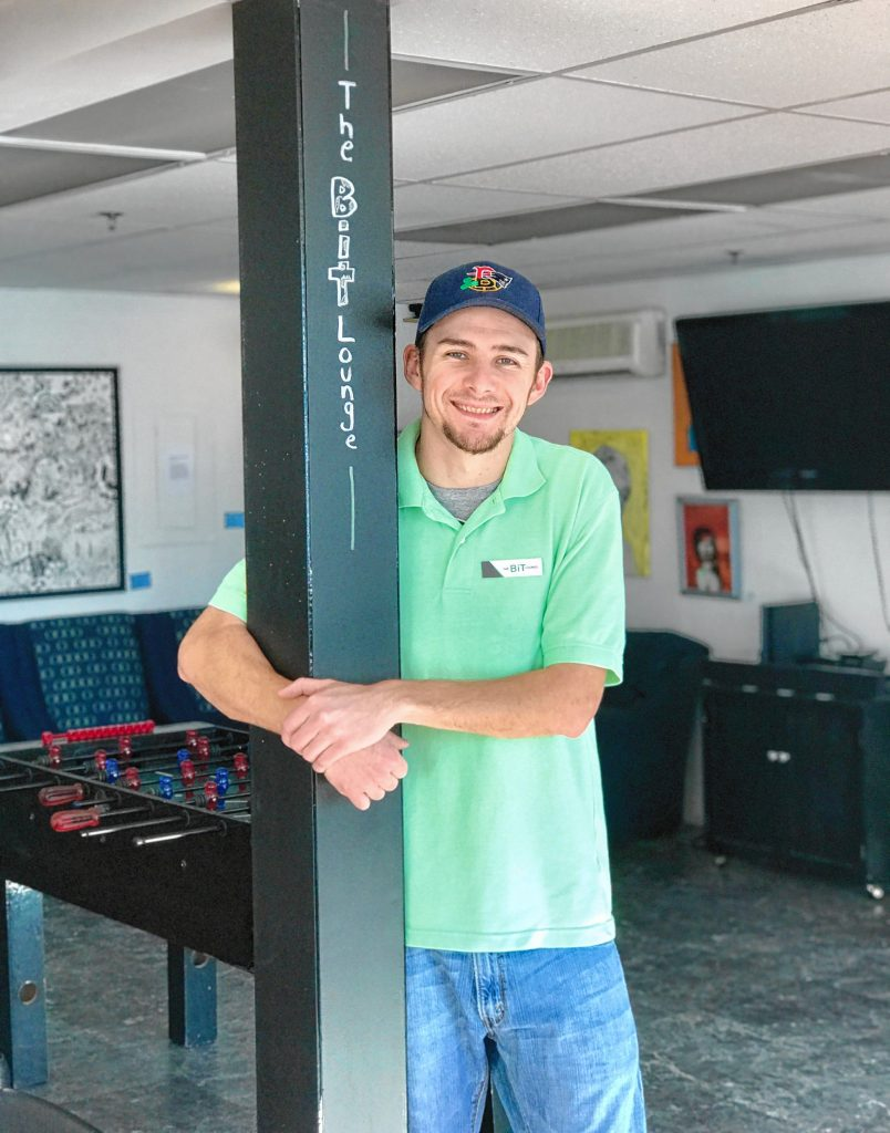 Jim Seavey, owner and CEO of The Bit Lounge, is the Concord Young Professionals Network's Young Professional of the Month. Courtesy of Greater Concord Chamber of Commerce